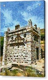 Pigeon House  Acrylic Print by George Atsametakis