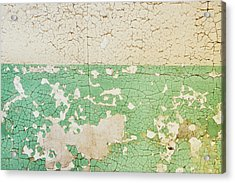 Prison Wall Texture Acrylic Print by JAMART Photography