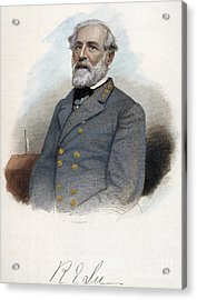 Robert E. Lee (1807-1870) Acrylic Print by Granger