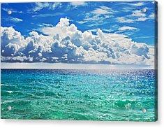 Sea Acrylic Print by MotHaiBaPhoto Prints