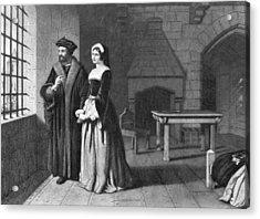 Sir Thomas More (1478-1535) Acrylic Print by Granger