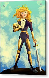 Tammy Wurtherington Freedom Fighter Acrylic Print