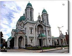 The Basilica Acrylic Print by Michael Frank Jr