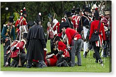 The Battle Of Queentson Heights Acrylic Print