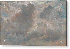 Title Cloud Study Acrylic Print