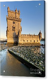Tower Of Belem Acrylic Print by Andre Goncalves