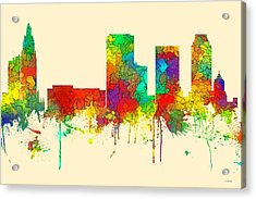 Tulsa Oklahoma Skyline Acrylic Print