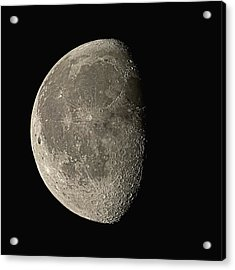 Waning Gibbous Moon Acrylic Print