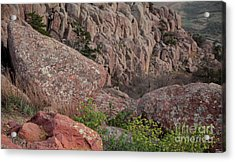 Acrylic Print featuring the photograph Wichita Mountains by Iris Greenwell