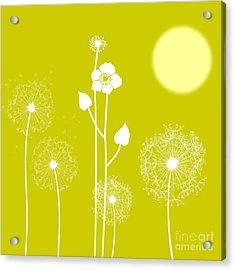 Wild Flowers Acrylic Print by Celestial Images