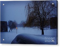 Winter Landscape  Acrylic Print by Celestial Images