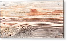 Wood Texture Acrylic Print by Tom Gowanlock