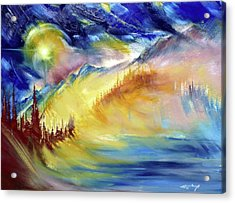 Earth Light Series Acrylic Print