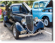 Hall County Sheriffs Office Show And Shine Car Show Acrylic Print