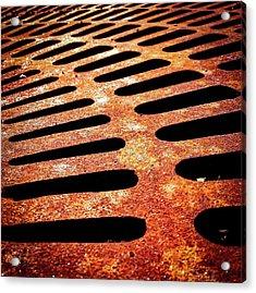 Iron Detail Acrylic Print