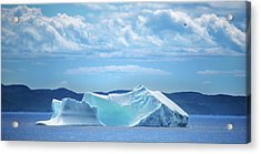 50 Shades Of Blue Acrylic Print