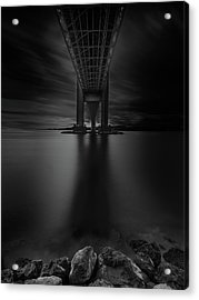 Acrylic Print featuring the photograph 50 Shades Of Verrazano by Edgars Erglis