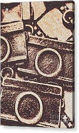 50s Brownie Cameras Acrylic Print