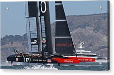 America's Cup 34 Acrylic Print by Steven Lapkin