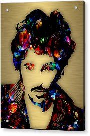 Bruce Springsteen Collection Acrylic Print by Marvin Blaine