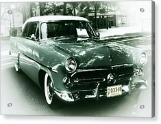 '52 Ford Victoria Hard Top Acrylic Print by Cathie Tyler