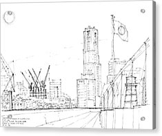 5.2.japan-1-tokyo-skyline Acrylic Print