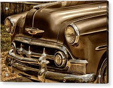53 Chevy Acrylic Print by Tricia Marchlik
