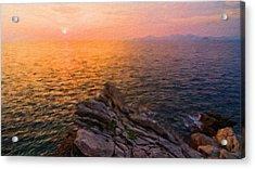 Romantic Landscape Acrylic Print