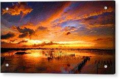 W H Landscape Acrylic Print