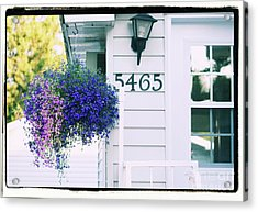 Acrylic Print featuring the photograph 5465 -h by Aimelle
