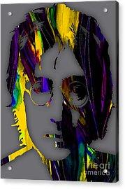 John Lennon Collection Acrylic Print by Marvin Blaine