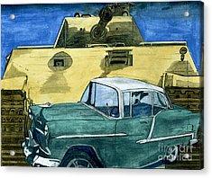55 Acrylic Print by Timothy Winiarski