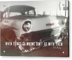 56 Belair In Memphis Quote Acrylic Print by JAMART Photography