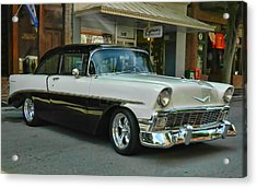 '56 Chevy Hot Rod Acrylic Print
