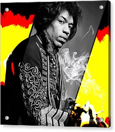 Jimi Hendrix Collection Acrylic Print