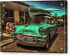 57 Buick - Just Coolin' It Acrylic Print