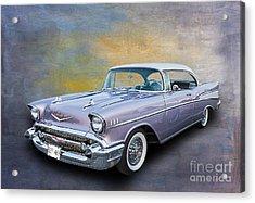 57 Chev Classic Car Acrylic Print