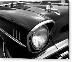 57 Chevy 2 Acrylic Print by Audrey Venute