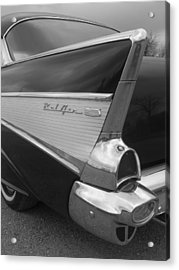 57 Chevy Acrylic Print by Audrey Venute