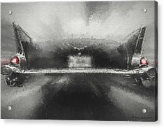 57' Chevy Mood Acrylic Print by Marvin Spates