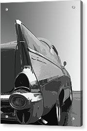 57 Chevy Verticle Acrylic Print