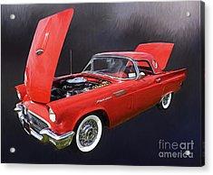 57 Thunderbird Acrylic Print