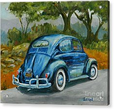 57 Vee Dub Acrylic Print by William Reed