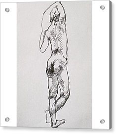 Figure Acrylic Print by Naoki Suzuka