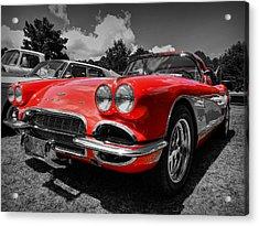 '59 Corvette 001 Acrylic Print