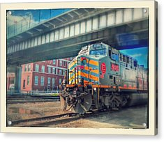 5th Street Bridge Acrylic Print by Dustin Soph