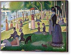 A Sunday On La Grande Jatte Acrylic Print by Celestial Images