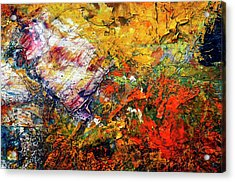 Abstract Acrylic Print by Michal Boubin