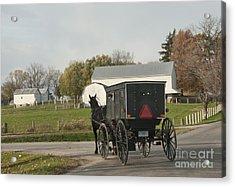 Amish Buggy Acrylic Print