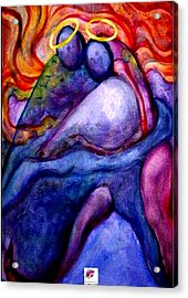 Angels Through The Looking Glass Acrylic Print